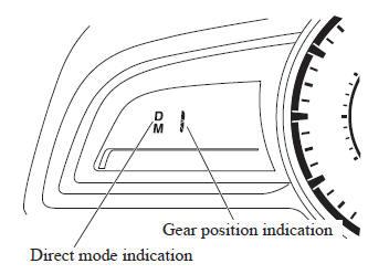 Mazda 3. Direct Mode